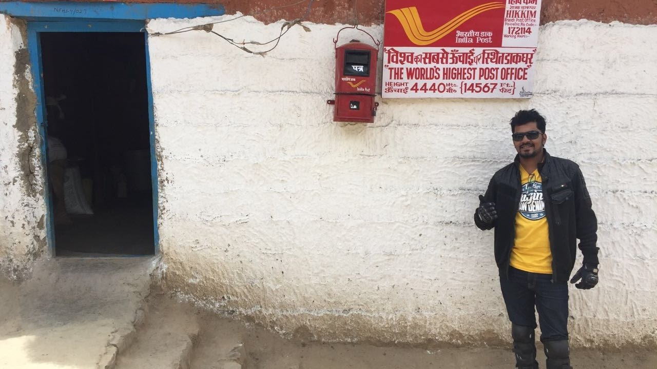 Image result for The world's highest post office