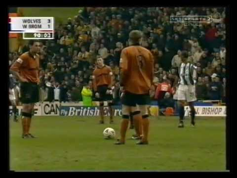 Wolves v West Bromwich Albion, 18th March 2001