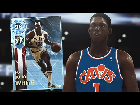DIAMOND JO JO WHITE ONLINE DEBUT - HISTORIC DOMINATION REWARD GAMEPLAY NBA 2K18 MYTEAM