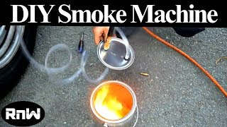How to Make a DIY Smoke Machine