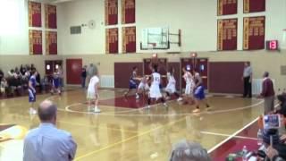 Varsity Boys Basketball: Wareham Vikings vs Cardinal Spellman Cardinals 1-10-15