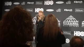 Stevie Nicks talks friendship with Harry Styles backstage at 2019 Rock Hall inductions