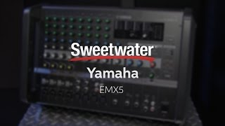 Summer NAMM 2016: Yamaha EMX Powered Mixers