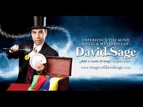 David Sage Magic and Mind  video s and photos .