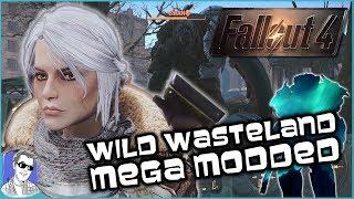 Mega Modded Fallout 4 With Ciri Live!