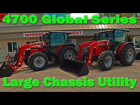 Massey Ferguson 4710 Global Series Cab Utility Tractor