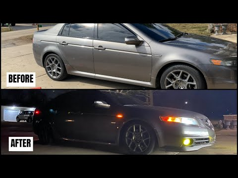 Installing TEIN Coilovers On Acura TL 04-08