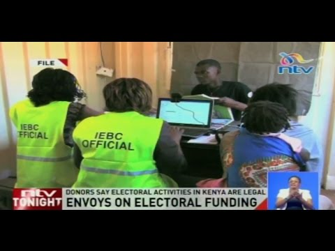 Donors say electoral activities in Kenya are legal