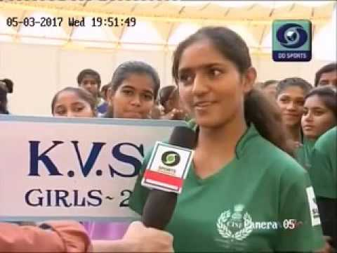 Opening Ceremony of Oorja u19 Football tournament in Delhi Organised by CISF on DD Sports