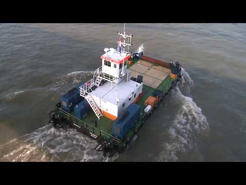Damen Modular Barge system compilation