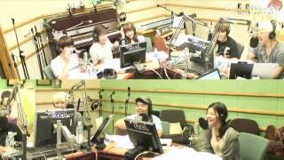 120815 Sukira - Kyuhyun in 'tears' after Mi's live