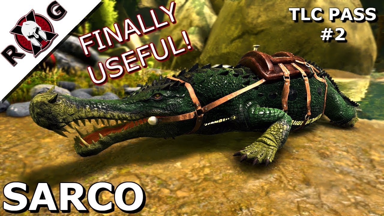 ark tlc sarco it s finally useful tlc pass 2 youtube