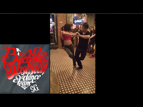Bachata Obsesion Dance Team in Singapore (YouYi & Emma)