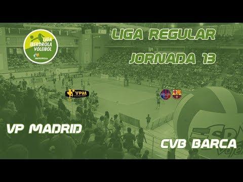 Liga Iberdrola 17-18: VPMADRID - CVB Barça