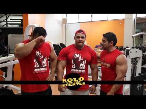 Rutina de Biceps con Charro, Morriz y Pineda