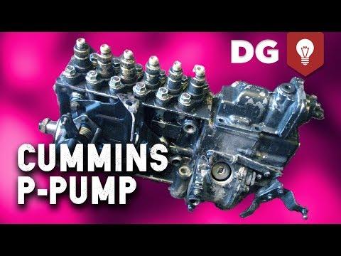 12v Cummins P-Pump Governor Springs & Fuel Plate Mod = POWER!