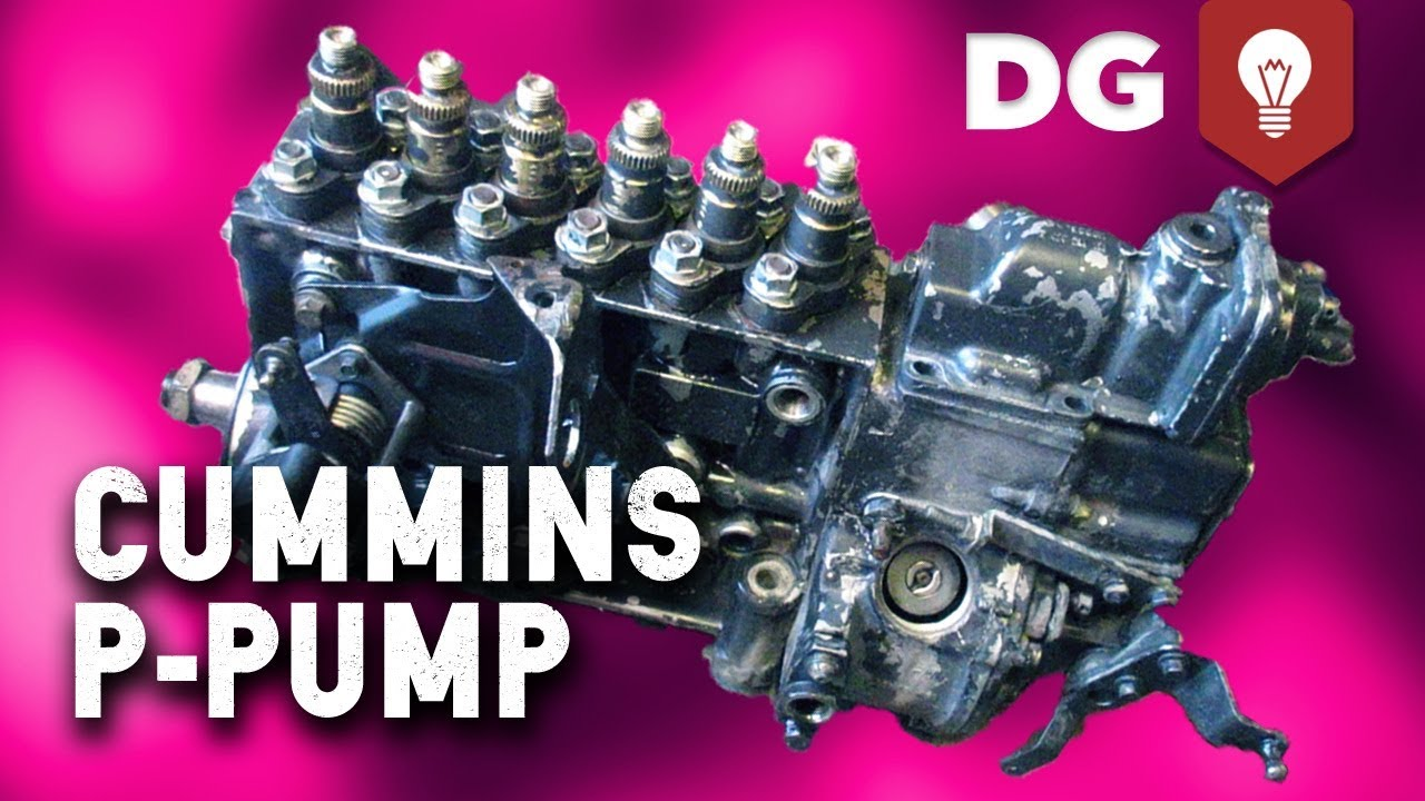 12 Valve Cummins Fuel System Diagram Holden Vl Stereo Wiring 12v P Pump Governor Springs Plate Mod Power Youtube