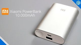 видео xiaomi power bank 10000