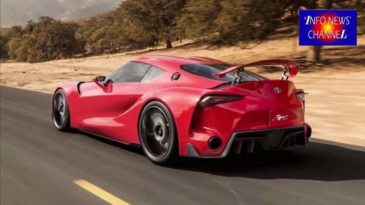 2018 Toyota Ft1 >> 2018 TOYOTA FT1 INTERIOR - YouTube