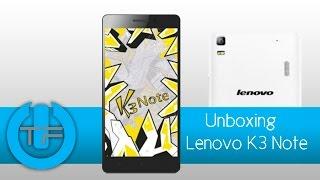 Lenovo K3 Note   Unboxing y primeras impresiones
