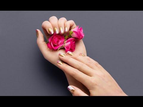 Nail Art Tutorial   Nail polish design at home   Oriflame Cosmetics