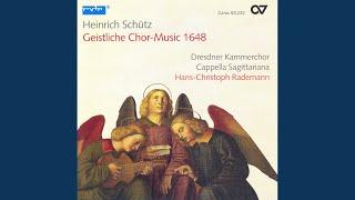 Geistliche Chormusik, Op. 11: Der Engel sprach zu den Hirten, SWV 395
