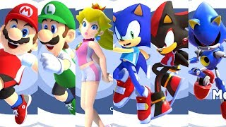 Mario and Sonic at the Olympic Games Tokyo 2020 - All Characters