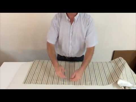 How To Sew A Box Pleated Valance