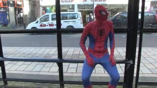 spider man visits ayr