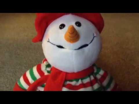 animated melting snowman READ DESCRIPTION