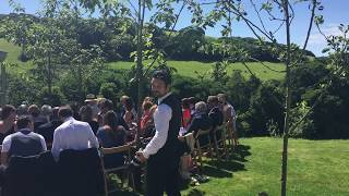 Awaiting the bride at Pengenna Manor - Cornwall wedding venue
