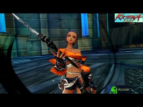 Kritika Online Assassin Gameplay: Deathwalker (No Hits)