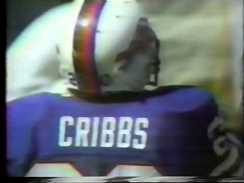 Joe Cribbs Buffalo Bills TDs pt1
