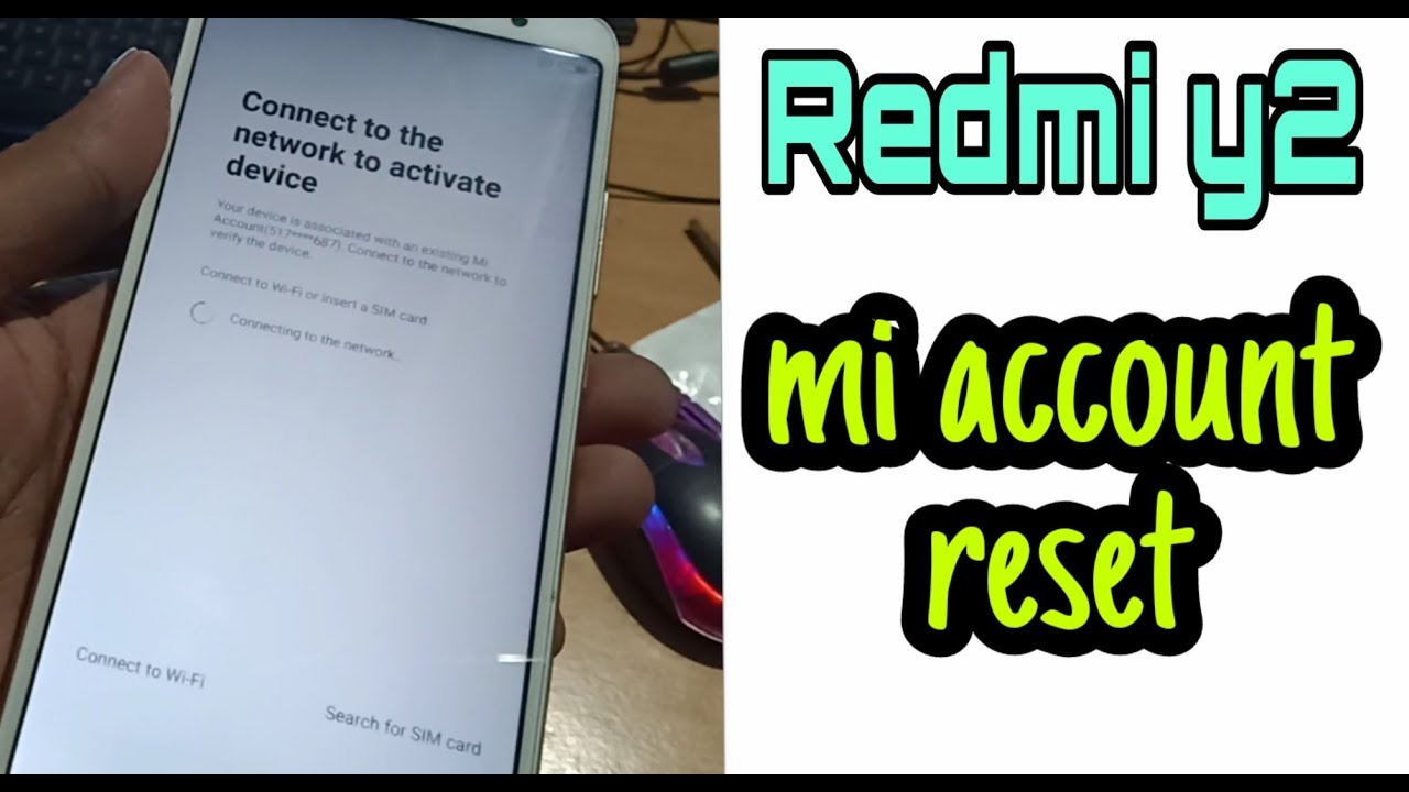 Click to Watch > Xiomi redmi Y2 mi account unlock and frp