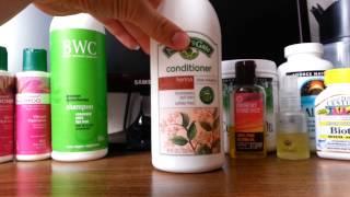 Iherb обзор. Уход за волосами. Шампуни, кондиционеры, маски, масла, витамины для волос, БАД.(Уход за волосами с IHerb : шампуни и кондиционеры от BWC, Nature's Gate, Aubrey Organics. Маска для волос EarthScience. Маски из натур..., 2015-04-22T13:54:07.000Z)