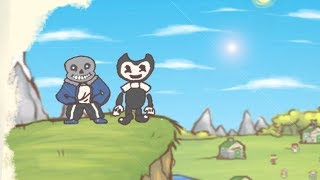 BENDY AND THE INK MACHINE Draw a Stickman Epic 2 - Bendy and Sans