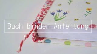 Grundtechnik Fadenbindung | Buch binden Anleitung für Anfänger DIY