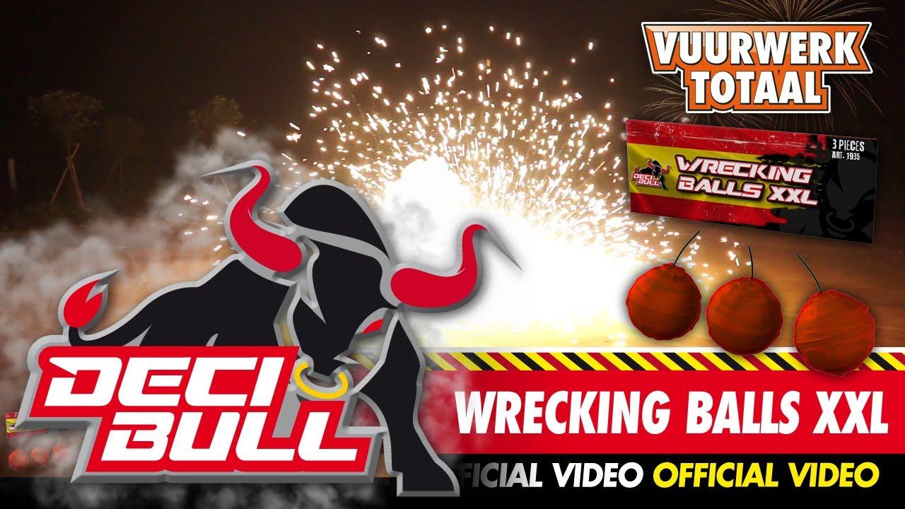 Van Hak Deuren : Wrecking balls decibull vuurwerk vuurwerktotaal [official video