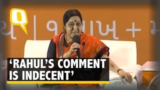 Reacting to Rahul Gandhi's controversial remark on the skewed repre...