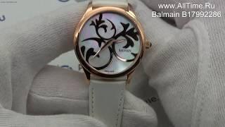 Обзор. Женские наручные часы Balmain B17992286