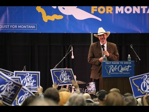 Rob Quist plays his campaign's theme song