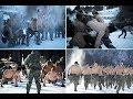 Motivation US Marines' bizarre topless drills