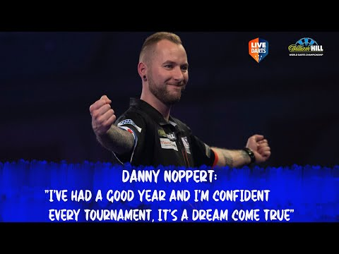 """Danny Noppert: """"I've had a good year and I'm confident every tournament, it's a dream come true"""""""