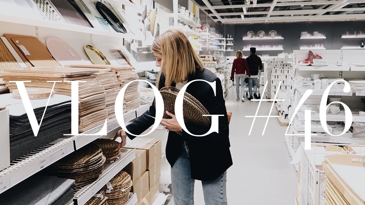 What I Wore This Week Home Shopping In Ikea Youtube