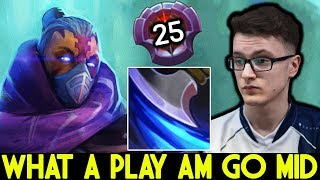 MIRACLE [Anti Mage] Pro Bring AM Mid Against TA What a Play 7.25 Dota 2