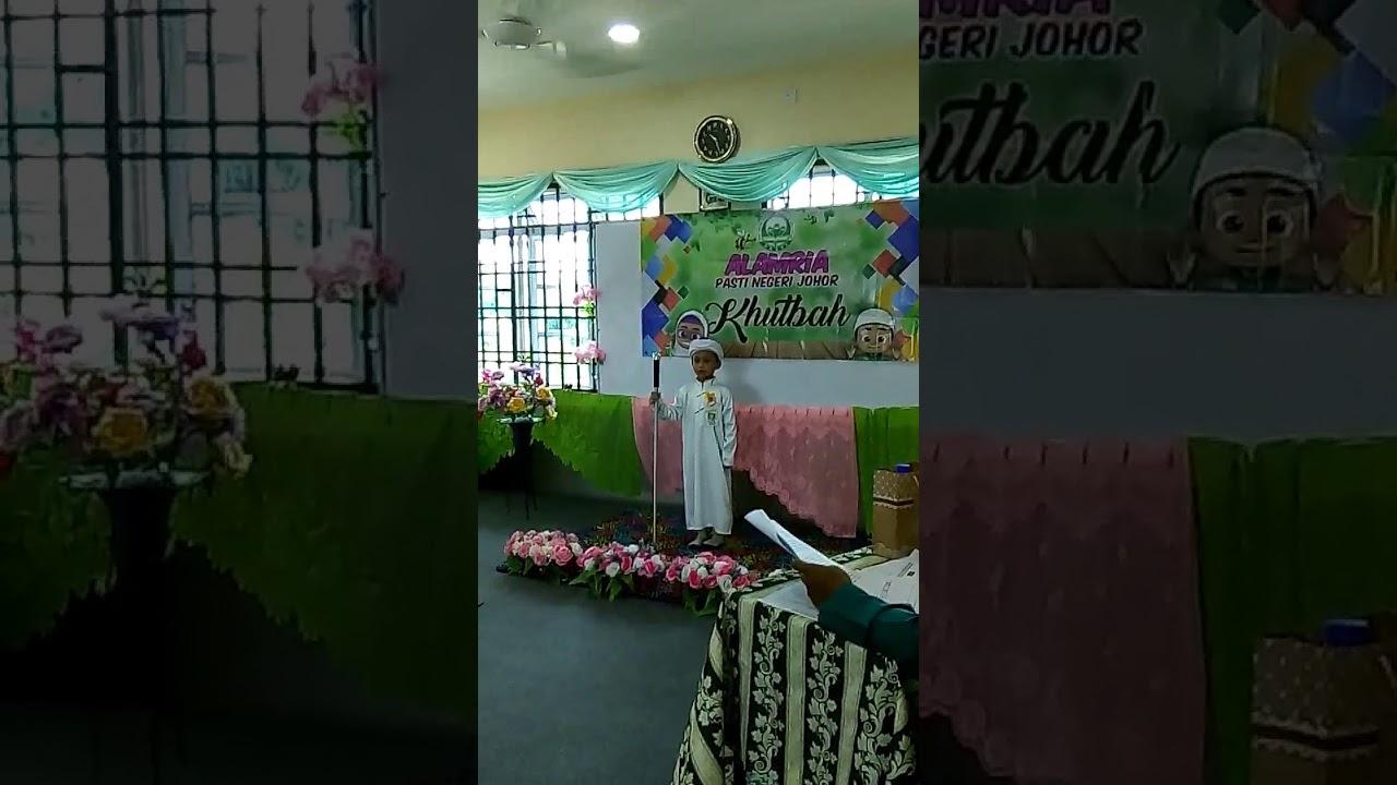 Pertandingan Khutbah Alam Ria Pasti Peringkat Negeri Johor 2017