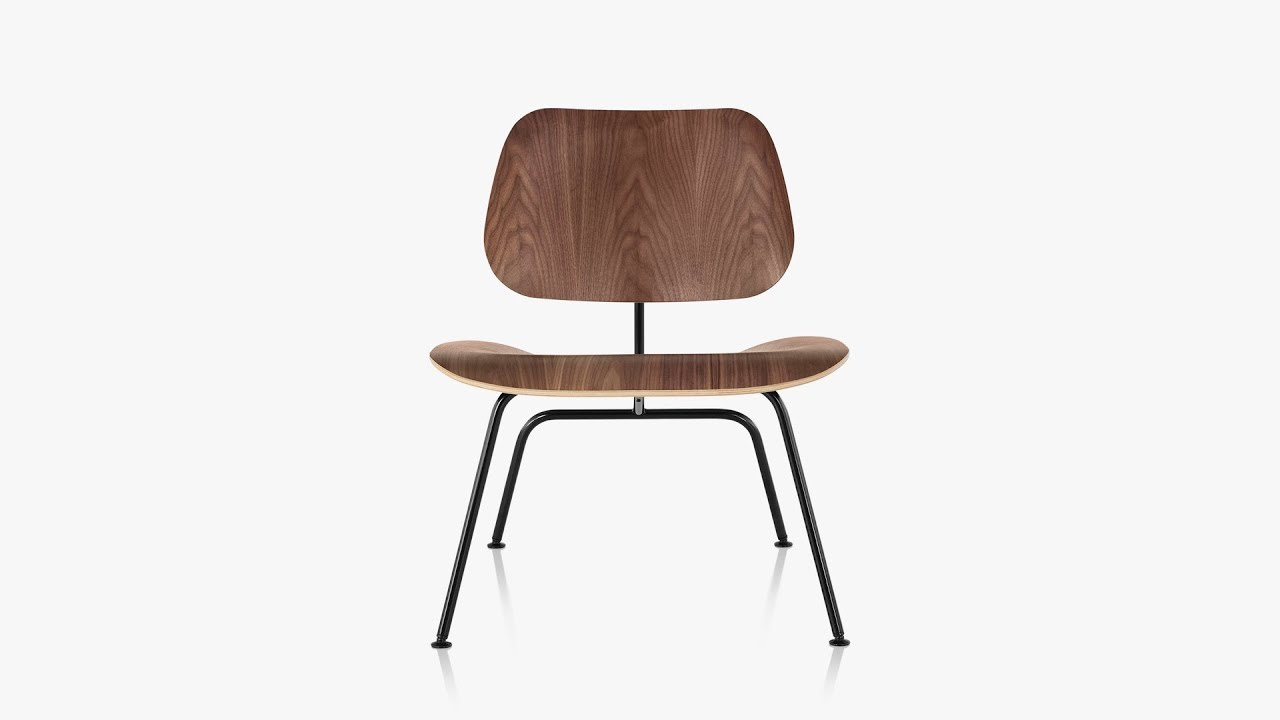 Eames Molded Plywood Lounge Chair Metal Base By Charles U0026 Ray Eames For  Herman Miller