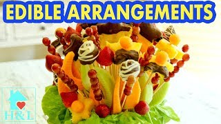 How to Make Edible Fruit Bouquet - DIY Edible Fruit Arrangements || Health and Lifestyle