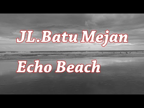 [Bali] Jl.Batu Mejan, Echo Beach : canggu / take a walk around Bali 2017  : trip guide video