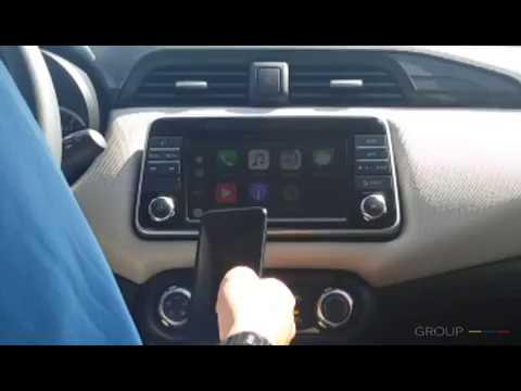 Apple Carplay con Nissan Micra - YouTube